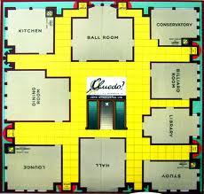 Cluedo board